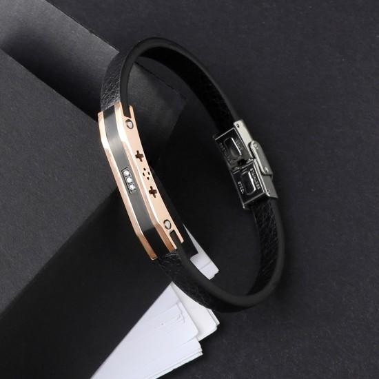 Strap Steel Bracelet 7215