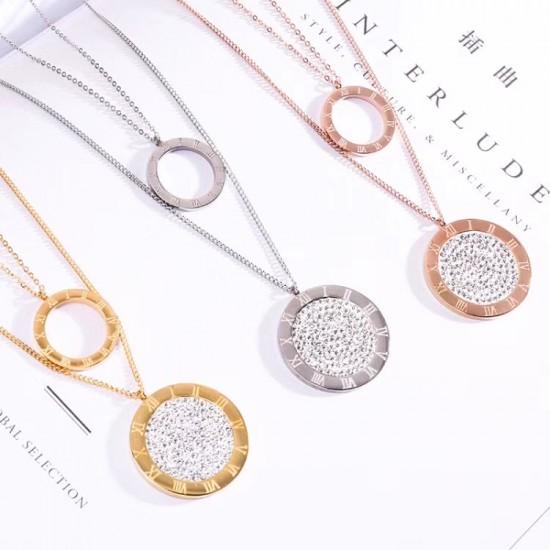 Women Steel Necklace 6940