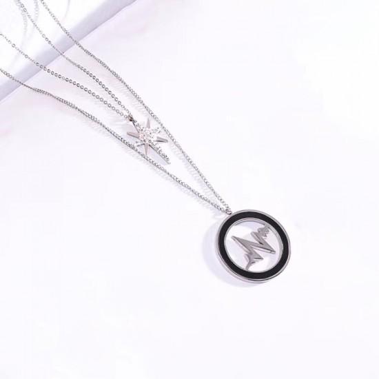 Women Steel Necklace 6941