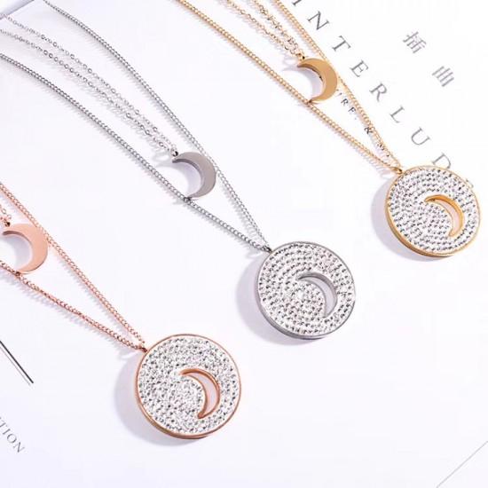 Women Steel Necklace 6943