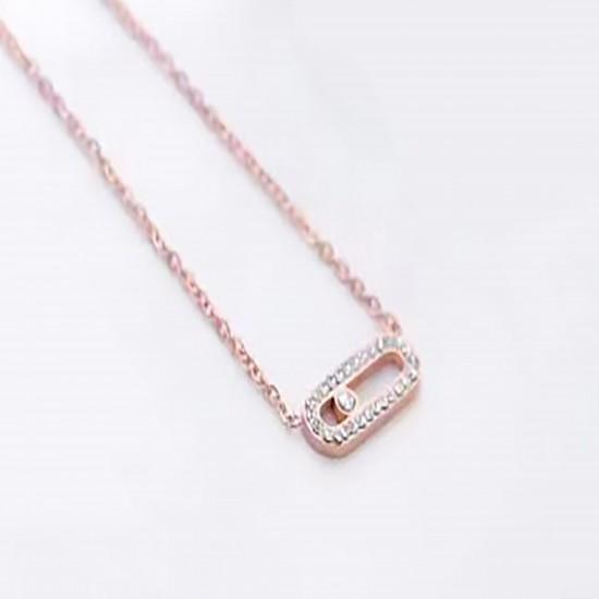 Women Steel Necklace 6971