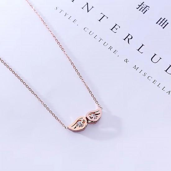 Women Steel Necklace 6972