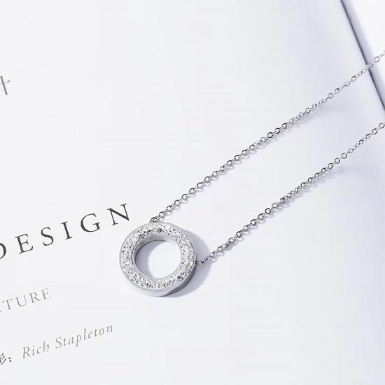 Women Steel Necklace 7068