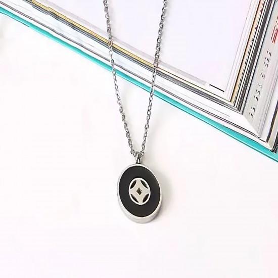 Women Steel Necklace 7072