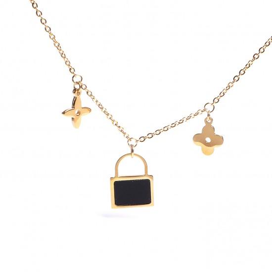 Women Steel Necklace 4821