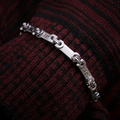 Anonim Figür Çelik Zincir Bileklik