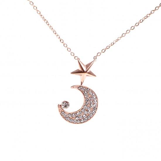 Women Steel Necklace 4819