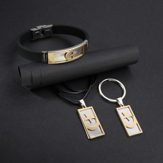 Strap Steel Bracelet 6280