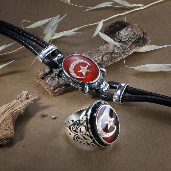 Leather Bracelet 6224