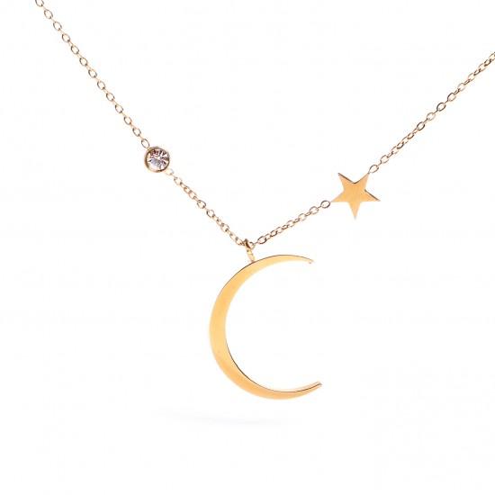 Women Steel Necklace 4797