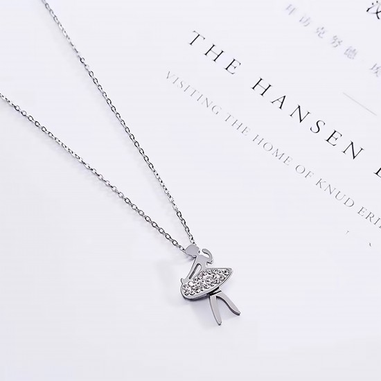 Women Steel Necklace 4809