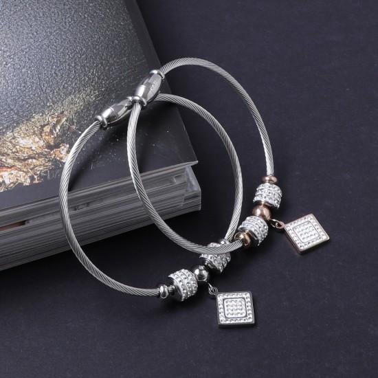 Women's Steel Bracelet 6906