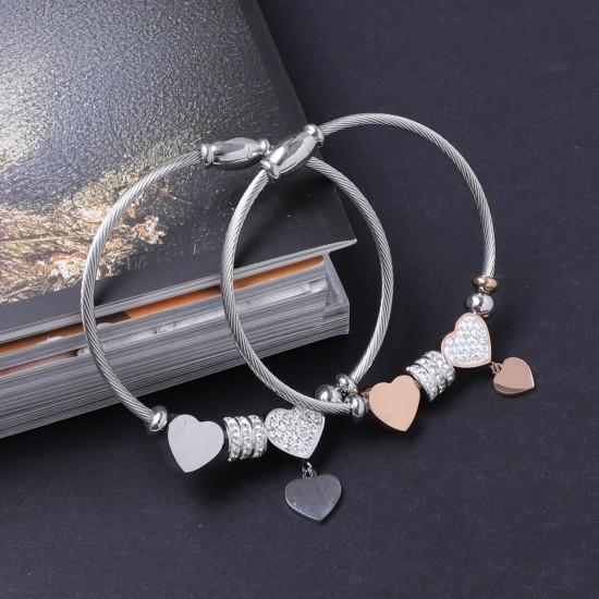 Women's Steel Bracelet 6911