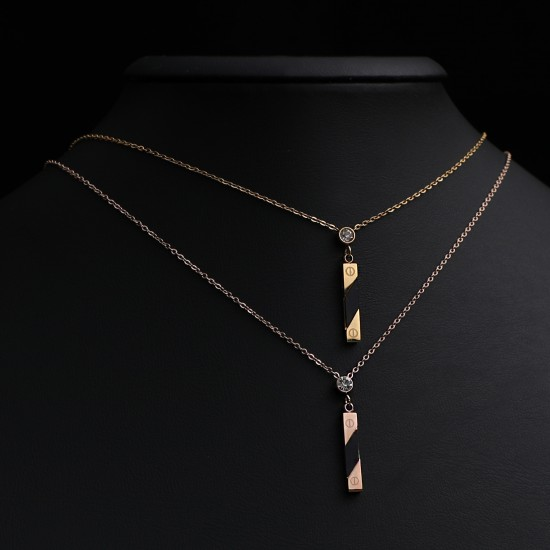Women Steel Necklace 4807