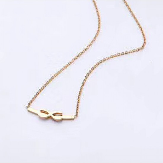 Women Steel Necklace 6965