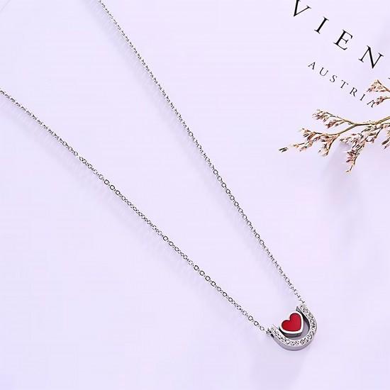 Women Steel Necklace 7088