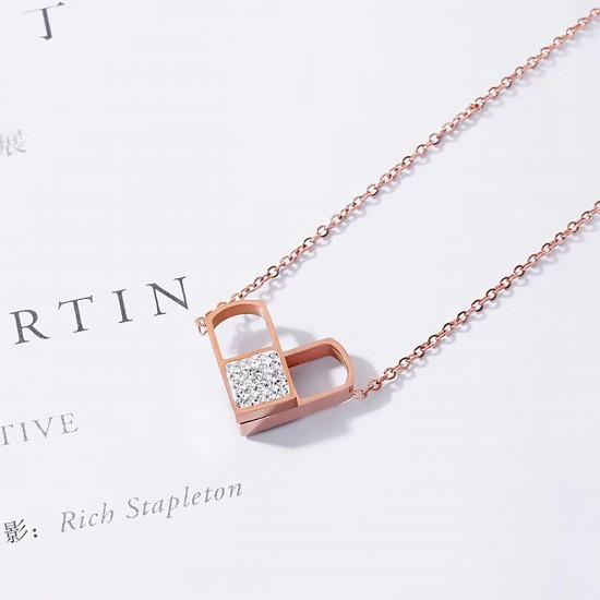 Women Steel Necklace 6930