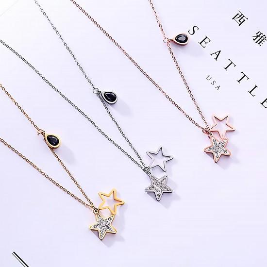 Women Steel Necklace 6931
