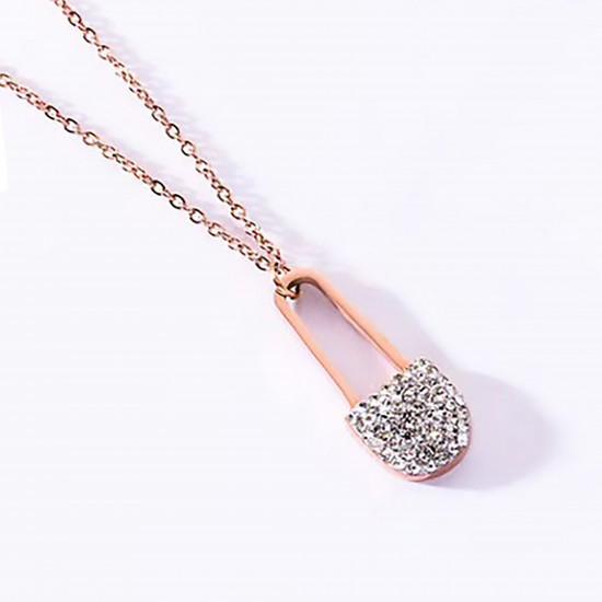 Women Steel Necklace 4805