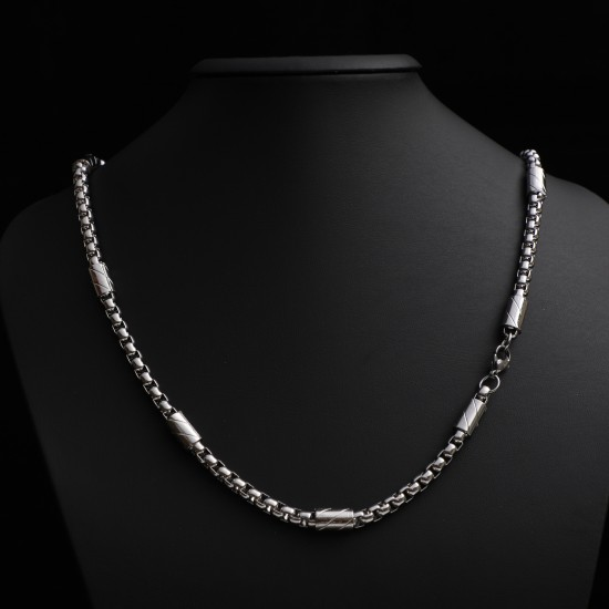 Unisex Steel Necklace 4701