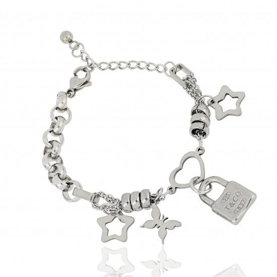 Women's Steel Bracelet 8467