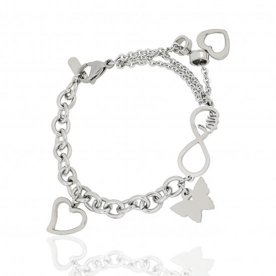 Women's Steel Bracelet 8473