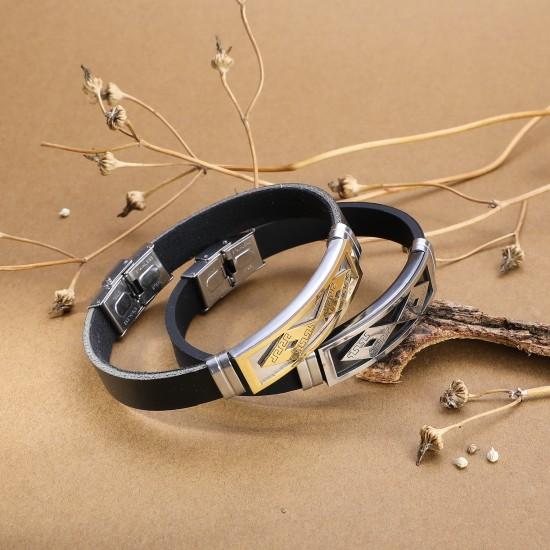 Strap Steel Bracelet 5407