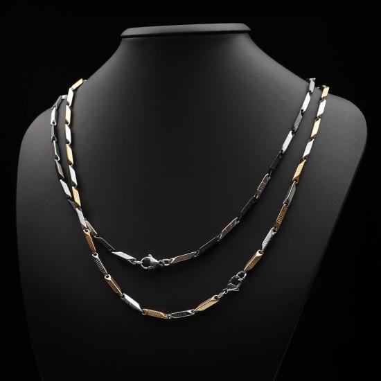 Unisex Steel Necklace 1050