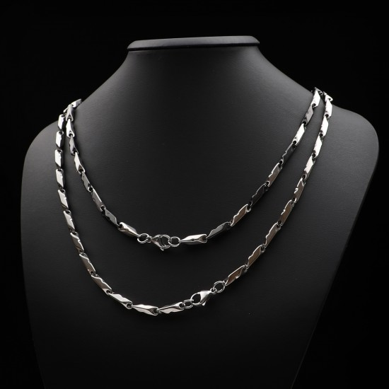 Unisex Steel Necklace 1125