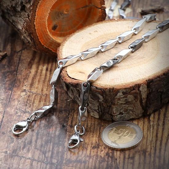 Unisex Steel Necklace 1129