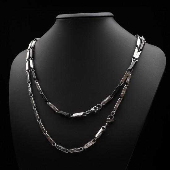 Unisex Steel Necklace 1141