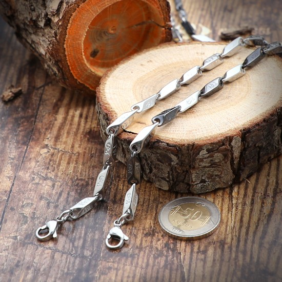 Unisex Steel Necklace 814
