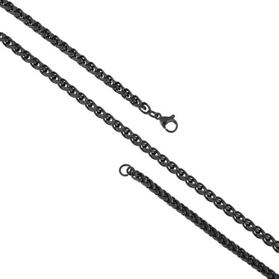 Unisex Steel Necklace 8539