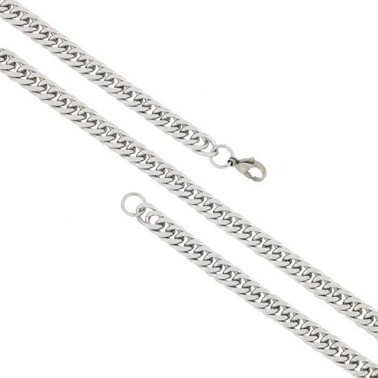 Unisex Steel Necklace 8525