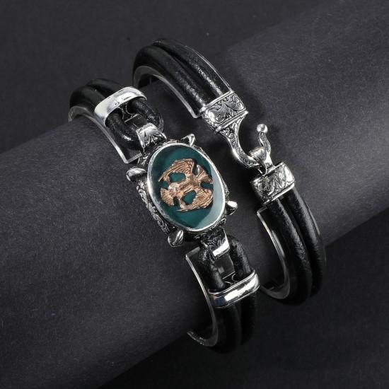 Leather Bracelet 6160