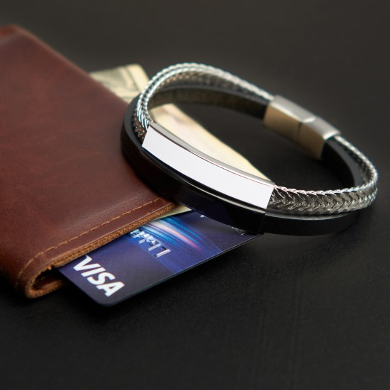 Strap Steel Bracelet 8325