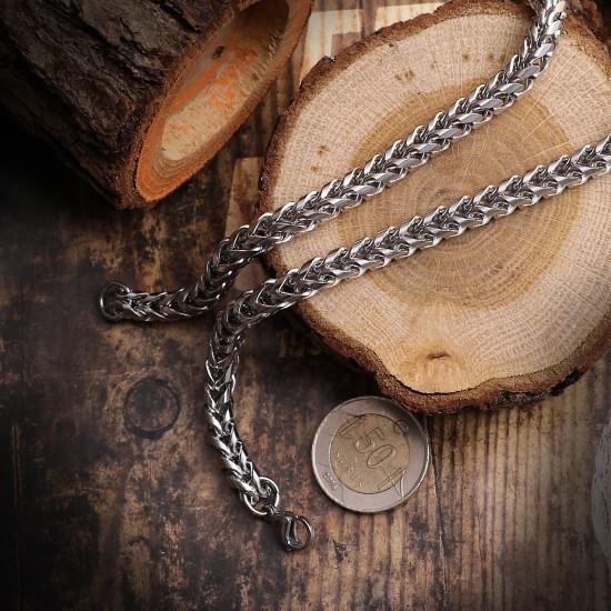 Unisex Steel Necklace 4730