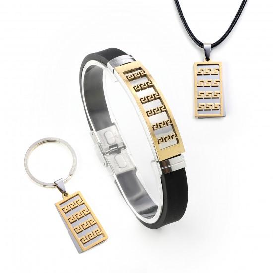 Strap Steel Bracelet 6281