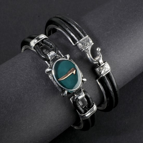 Leather Bracelet 6159