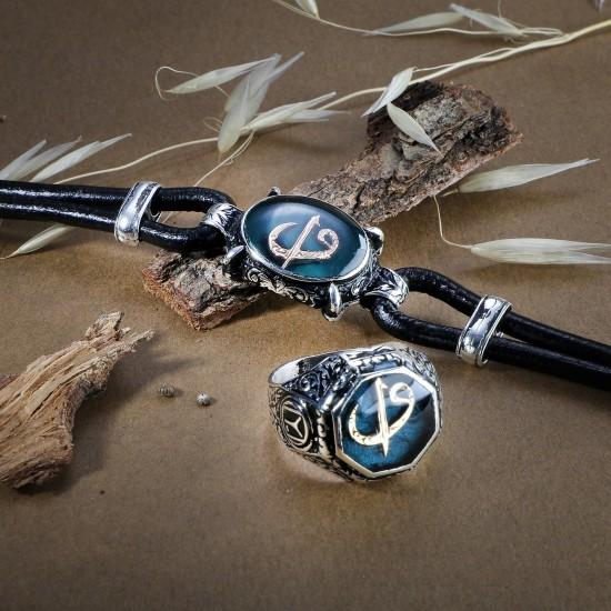 Leather Bracelet 6218