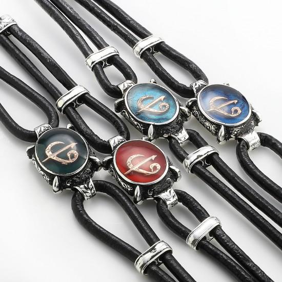 Leather Bracelet 6155