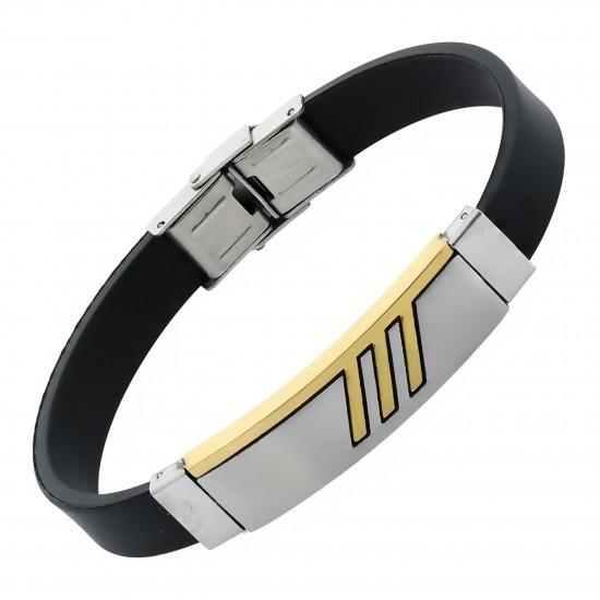 Strap Steel Bracelet 8487