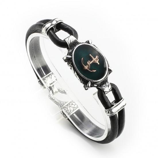 Leather Bracelet 6156