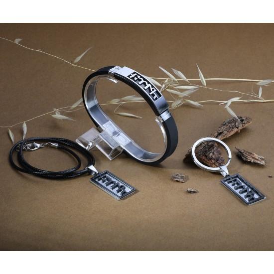 Strap Steel Bracelet 6287
