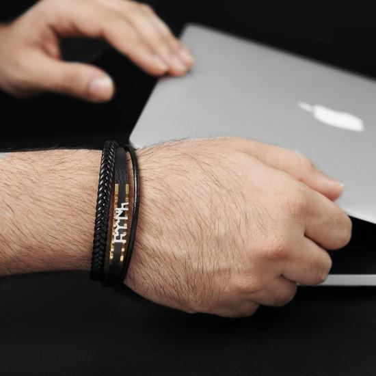 Strap Steel Bracelet 8311
