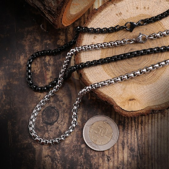 Unisex Steel Necklace 4714