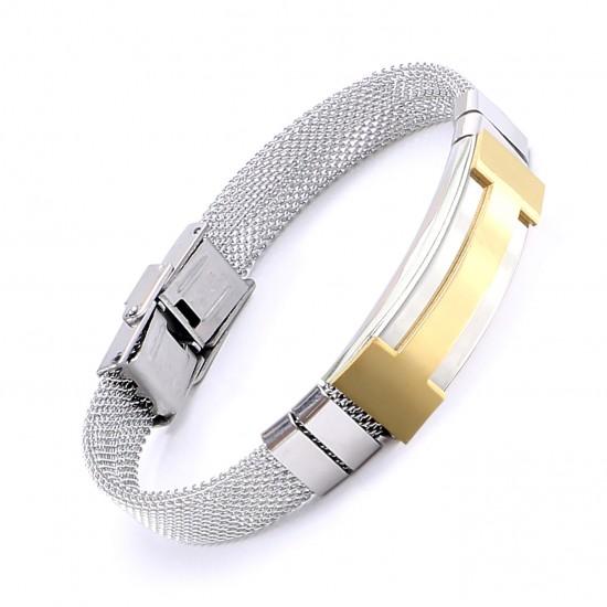 Strap Steel Bracelet 5635