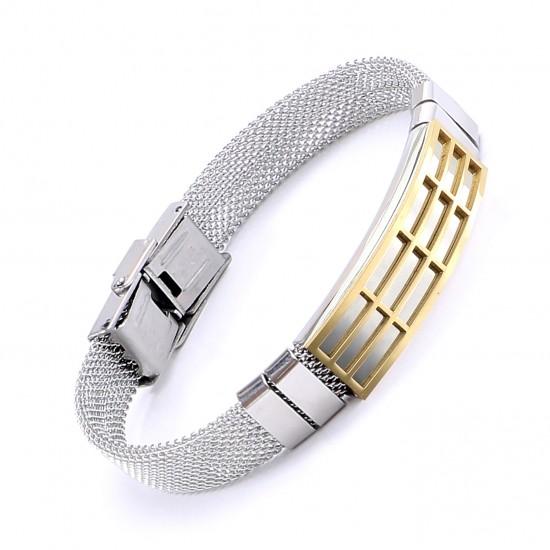 Strap Steel Bracelet 5636