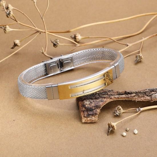 Strap Steel Bracelet 5637