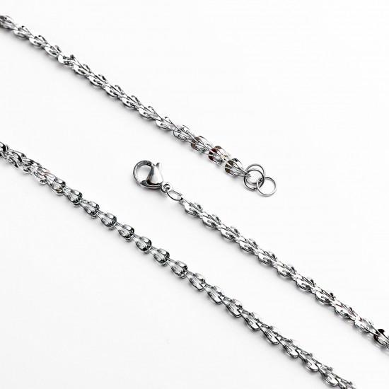 Unisex Steel Necklace 4674
